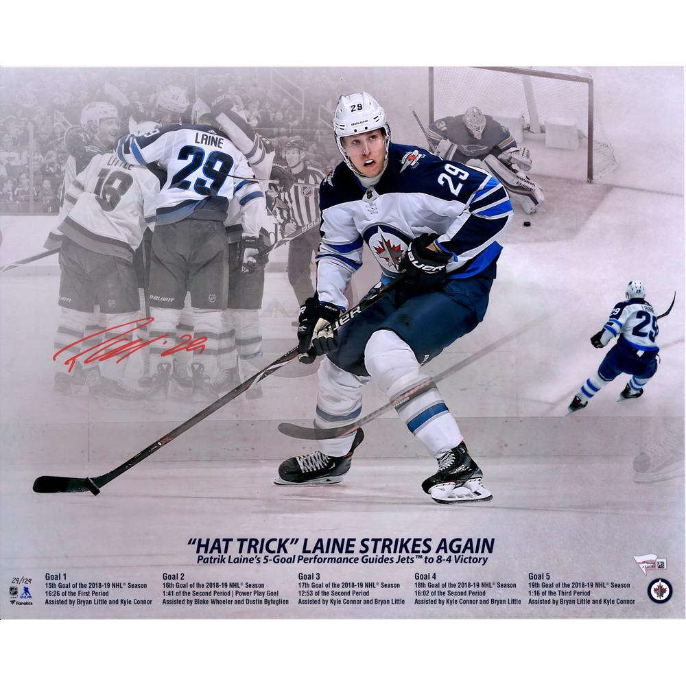 Patrik Laine Winnipeg Jets Autographed 16