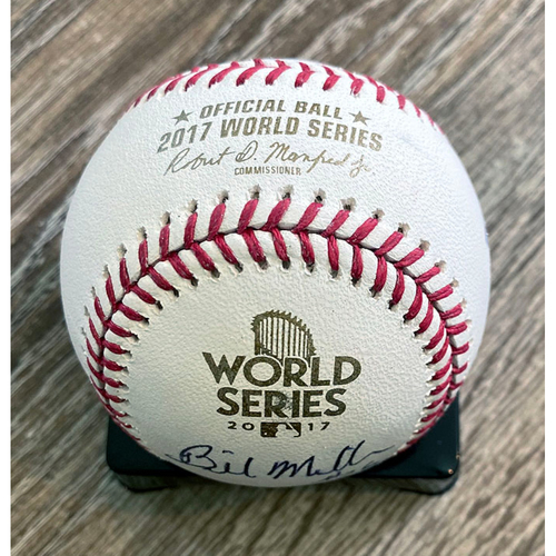 Photo of UMPS CARE AUCTION: Crew Signed Baseball From 2017 World Series