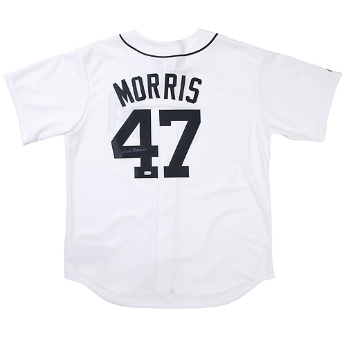 Photo of Detroit Tigers Jack Morris Autographed Replica Jersey