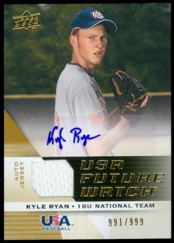 Photo of 2009 Upper Deck Signature Stars USA National Team Future Watch Jersey Autographs #38 Kyle Ryan/999