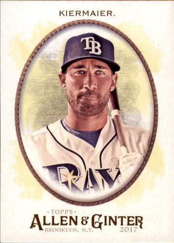 Photo of 2017 Topps Allen and Ginter #265 Kevin Kiermaier