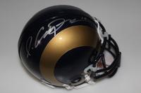 NFL - RAMS PHAROH COOPER SIGNED RAMS MINI HELMET