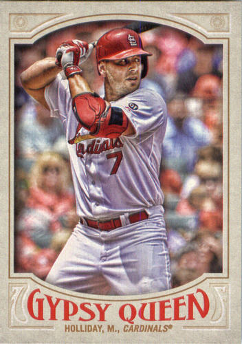 Photo of 2016 Topps Gypsy Queen #174 Matt Holliday