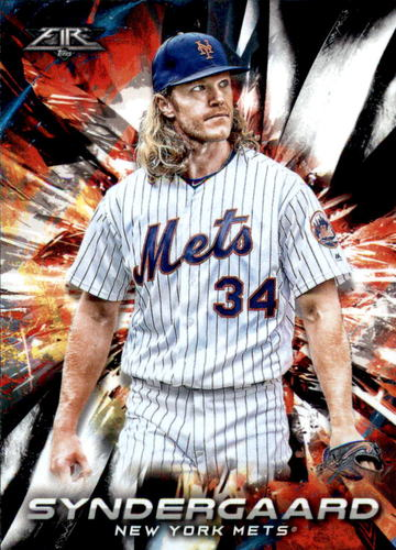 Photo of 2018 Topps Fire #137 Noah Syndergaard