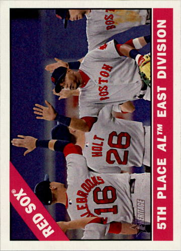 Photo of 2015 Topps Heritage #259 Boston Red Sox