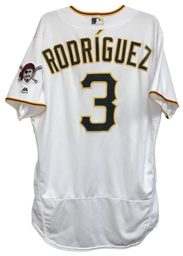 Photo of Sean Rodriguez 2018 Game-Used Jersey - 1 for 2