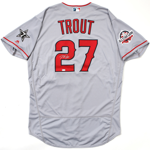 Photo of Compton Youth Academy Auction: Mike Trout Autographed Jersey (With ASG Patch)