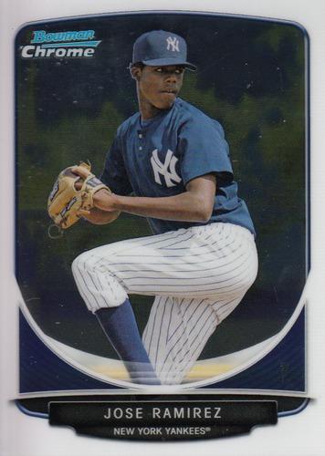 Photo of 2013 Bowman Chrome Prospects #BCP37 Jose Ramirez