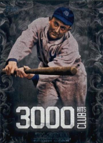Photo of 2016 Topps Update 3000 Hits Club #3000H2 Ty Cobb