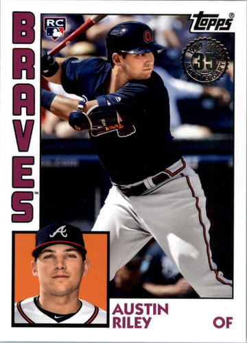 Photo of 2019 Topps Update '84 Topps #8429 Austin Riley