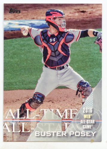 Photo of 2017 Topps All Time All Stars #ATAS9 Buster Posey