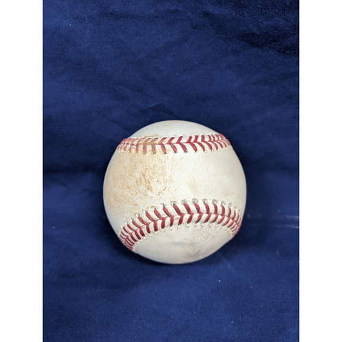 Photo of Game Used Baseball: Pitcher: Dylan Floro, Batter: Trevor Story (Single)- 9-3-2019 vs. COL