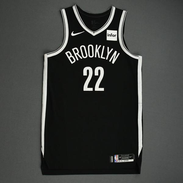 Image of Caris LeVert - Brooklyn Nets - NBA China Games - Game-Worn Icon Edition Jersey - Scored Game-High 22 Points - 2019-20 NBA Season
