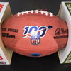 Panthers - Kawann Short Signed Authentic Football with 100 Seasons and Panthers Logo
