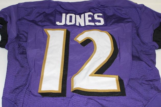 NFL Auction | JACOBY JONES GAME WORN RAVENS JERSEY (NOVEMBER 9, 2014)