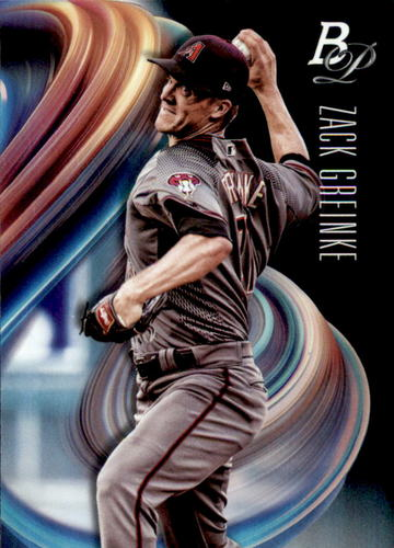 Photo of 2018 Bowman Platinum #92 Zack Greinke