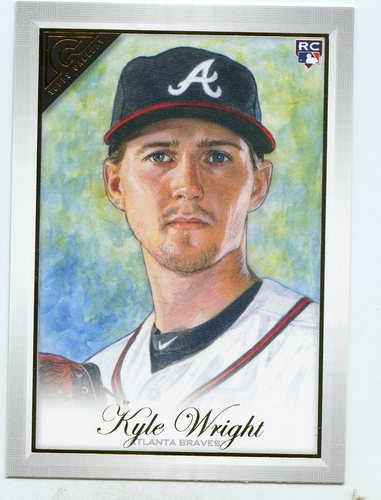 Photo of 2019 Topps Gallery #97 Kyle Wright RC
