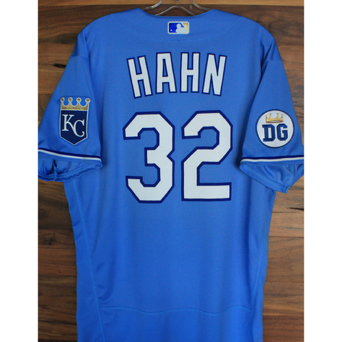 Alex's Lemonade Stand Foundation: Game-Used Jesse Hahn Jersey (Size 46 - 9/26/20 DET @ KC)