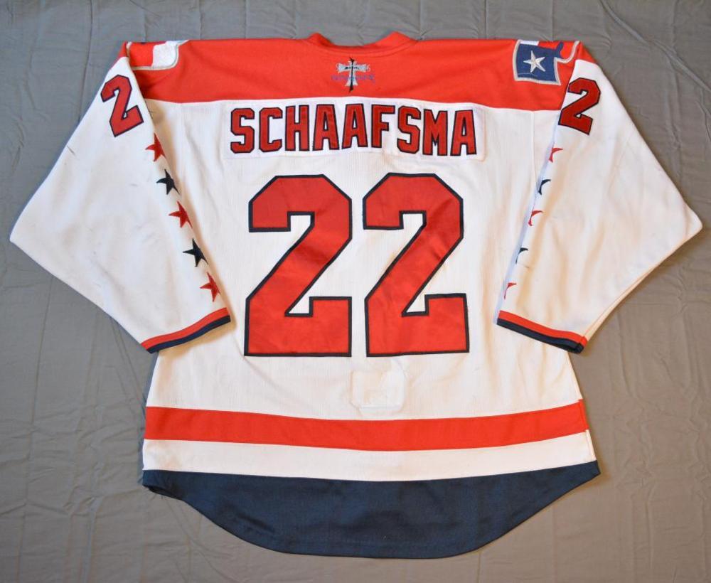 Jamie Schaafsma - Allen Americans - 2015 ECHL Captains' Club ...