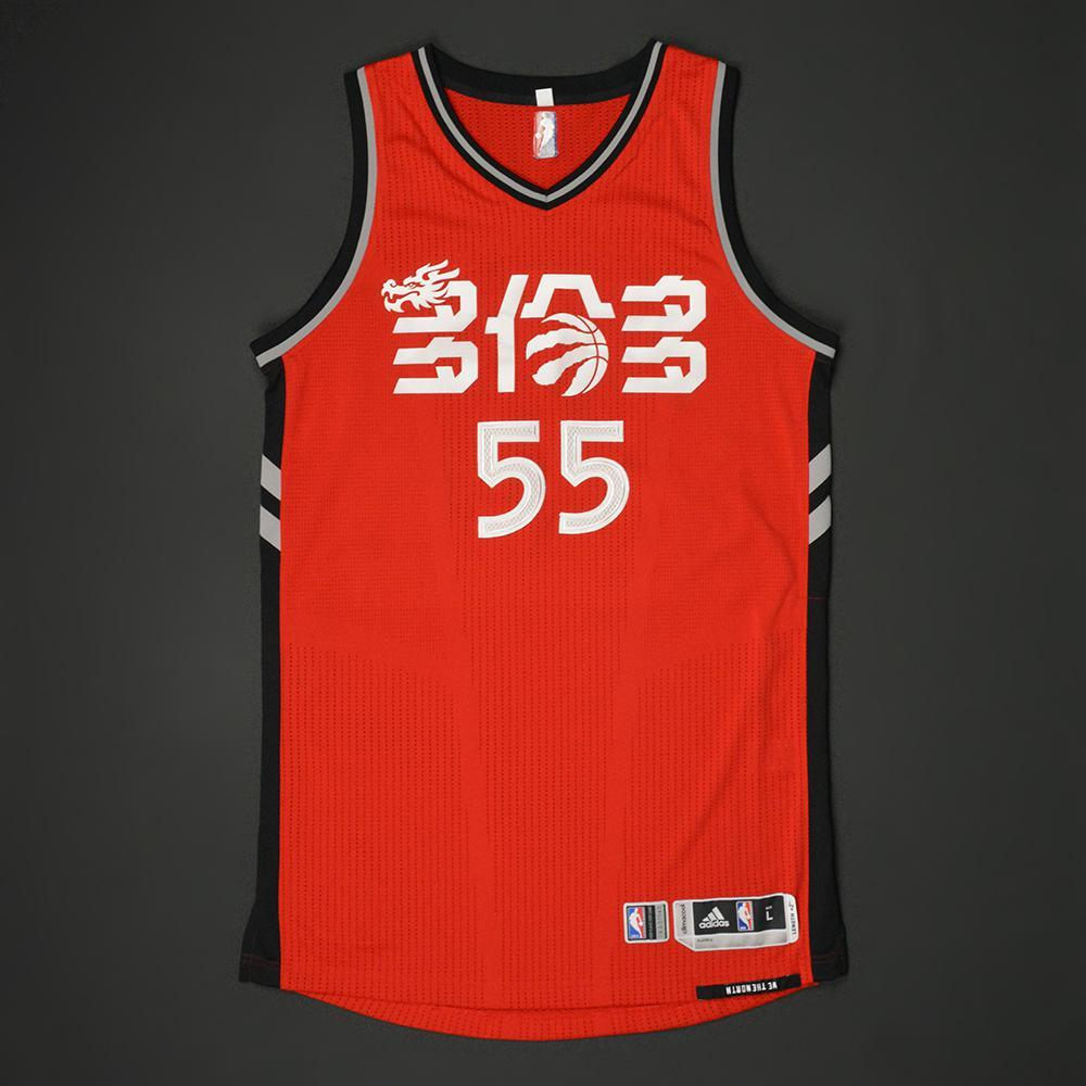 sports shoes bab62 6d226 Delon Wright - Toronto Raptors - 2017 'Chinese New Year ...