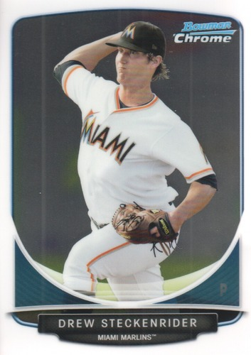 Photo of 2013 Bowman Chrome Prospects #BCP183 Drew Steckenrider
