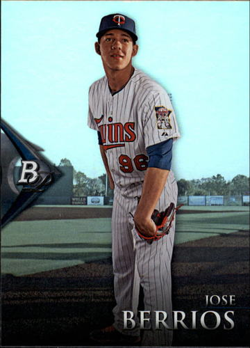 Photo of 2014 Bowman Platinum Prospects #BPP5 Jose Berrios