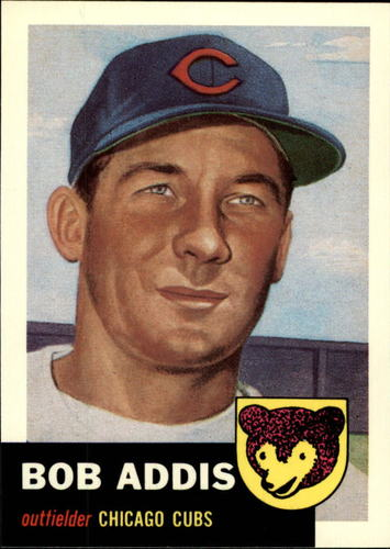 Photo of 1991 Topps Archives 1953 #157 Bob Addis
