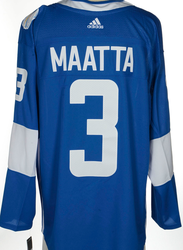 Olli Maatta Pittsburgh Penguins Adidas Team Finland 2016 World Cup of Hockey Unsigned Jersey