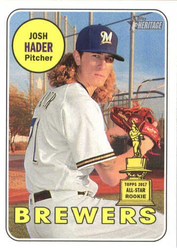 Photo of 2018 Topps Heritage #150 Josh Hader