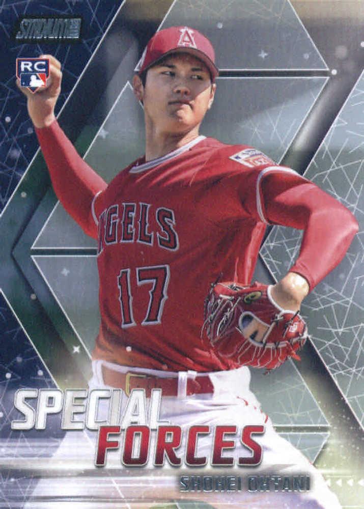2018 Stadium Club Special Forces #SFSO Shohei Ohtani