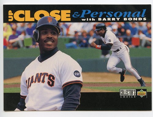 Photo of 1994 Collector's Choice #632 Barry Bonds UP