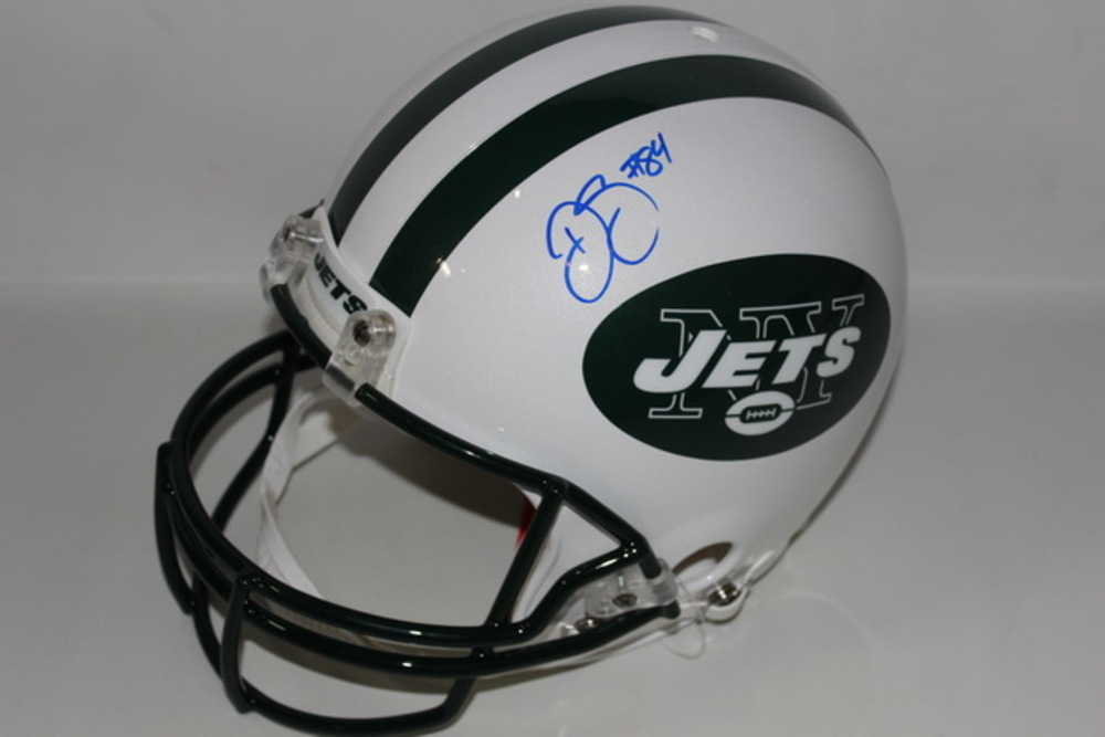 NFL - JETS DEVIN SMITH SIGNED JETS PROLINE HELMET