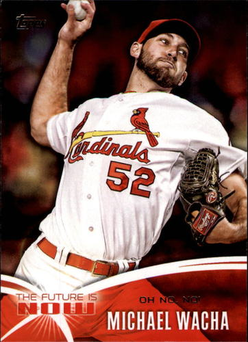 Photo of 2014 Topps The Future is Now #FNMW2 Michael Wacha UPD