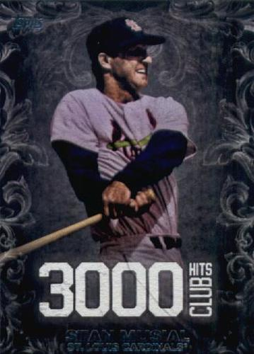Photo of 2016 Topps Update 3000 Hits Club #3000H4 Stan Musial