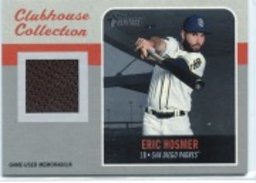 Photo of 2019 Topps Heritage Clubhouse Collection Relics #CCREH Eric Hosmer HN