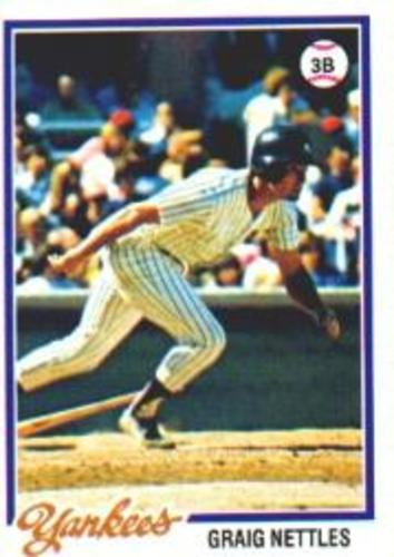 Photo of 1978 Topps #250 Graig Nettles DP