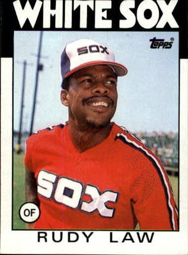 Photo of 1986 Topps #637 Rudy Law