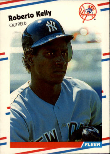 Photo of 1988 Fleer #212 Roberto Kelly RC