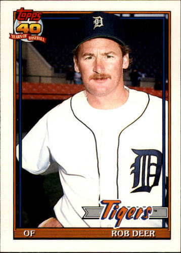 Photo of 1991 Topps Traded #30T Rob Deer