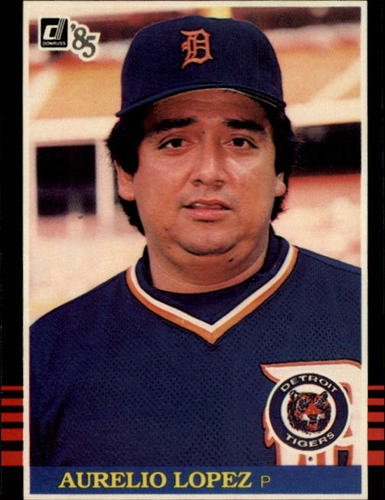 Photo of 1985 Donruss #349 Aurelio Lopez