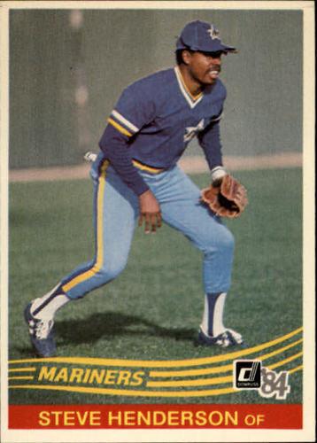 Photo of 1984 Donruss #389 Steve Henderson
