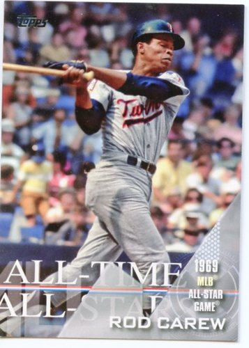 Photo of 2017 Topps All Time All Stars #ATAS13 Rod Carew