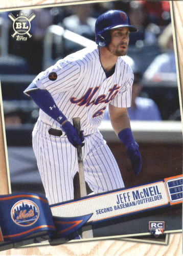 Photo of 2019 Topps Big League #116 Jeff McNeil RC