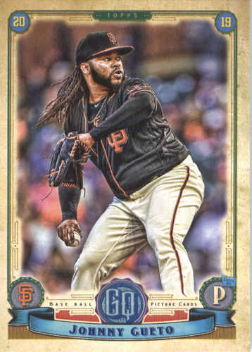 Photo of 2019 Topps Gypsy Queen #193 Johnny Cueto