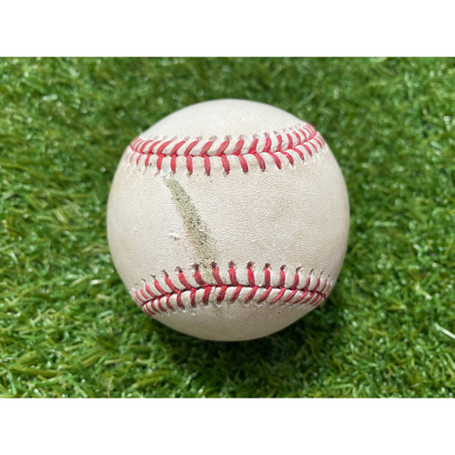 Game-Used Baseball: Whit Merrifield 126th Career Double (CLE @ KC - 7/28/19)