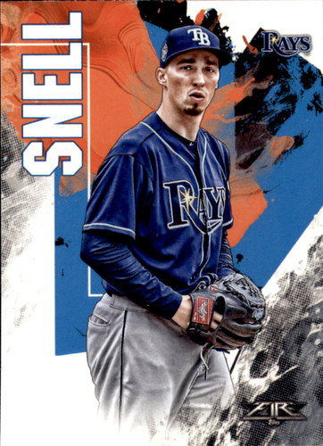 Photo of 2019 Topps Fire #138 Blake Snell