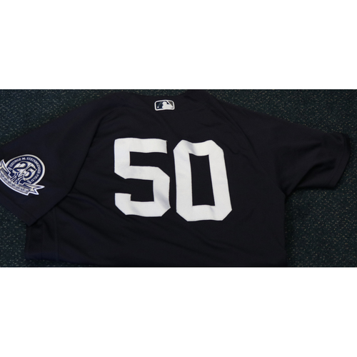 Photo of Team-Issued Spring Training Jersey - Reggie Willits - #50 - Jersey Size - 44