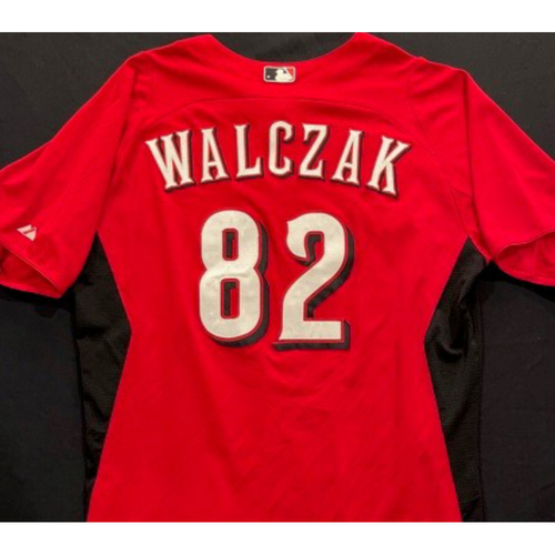 Photo of WALCZAK -- Authentic Reds Jersey -- $1 Jersey Auction -- $5 Shipping -- Size 46 (Not MLB Authenticated)