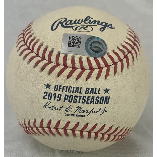 Photo of 2019 ALCS Game 6: Game-Ready Baseball