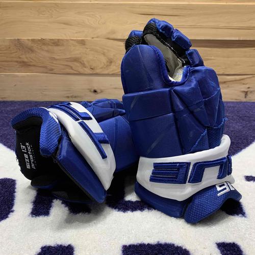 Mitch Marner 2020-21 Game Worn Gloves (Photo-Matched)